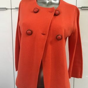 J.Crew Small Orange jacket NEW